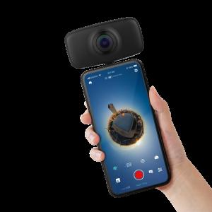 מצלמה לבלוגרים Kandao QooCam Fun 360º 4K Camera סינטל
