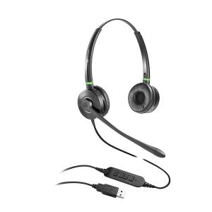 מערכת ראש אוזניה למוקדים עם מיקרופון סינטל CALL CENTER למחשב VT6909 B